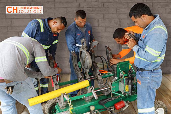 CH Underground Solutions Termofusión Tuberías Gas